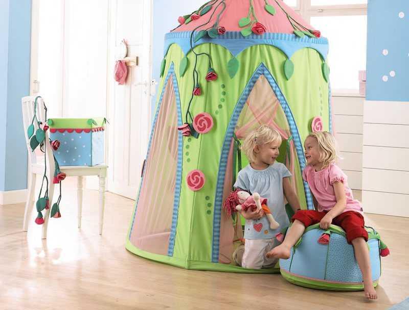 Детские игровые палатки для детей: для дома, в квартиру для девочки