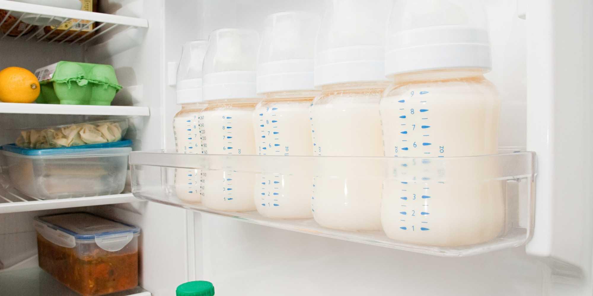 Сколько можно хранить сцеженное грудное молоко, сколько хранится грудное молоко при комнатной температуре, в холодильнике, морозильнике