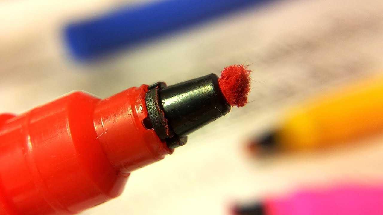 Как восстановить засохший маркер? заправляем маркеры на спиртовой и водной основе по правилам