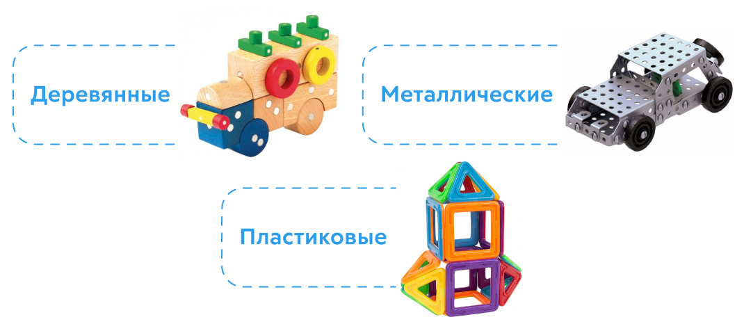 Магнитные конструкторы для детей от 5 лет: виды и нюансы выбора - цветы жизни