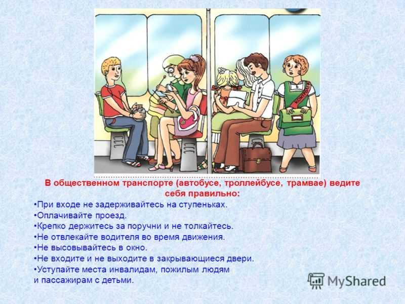 Правила поведения в школьном автобусе: инструкция для учащихся