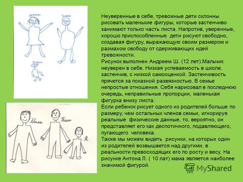 """""""тайный язык"""" детского рисунка"""