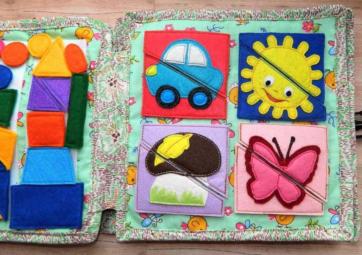 Развивающие книжки из ткань фетра для детей примеры страниц