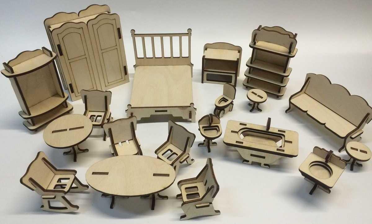 Мебель для барби своими руками: как сделать кровать, диван, кухня, комод, столик для кукол