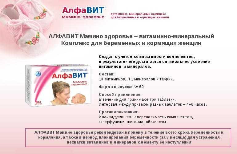 Витамины для беременных: сложный выбор