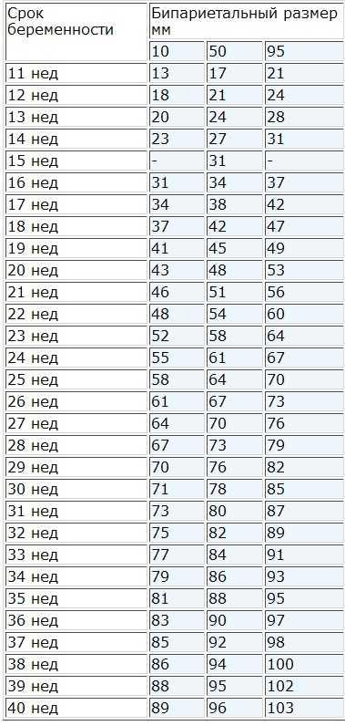 Окружность живота по неделям беременности - норма обхвата живота, таблица