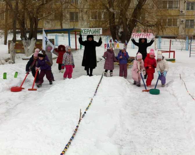 зимние игры и забавы для детей: какие бывают развлечения для дошкольников со снегом