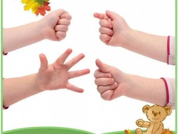 Пальчиковые игры для малышей до года + стишки для изучения частей тела и лица