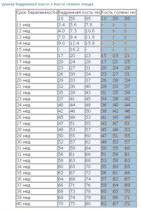 Состав и норма околоплодных вод