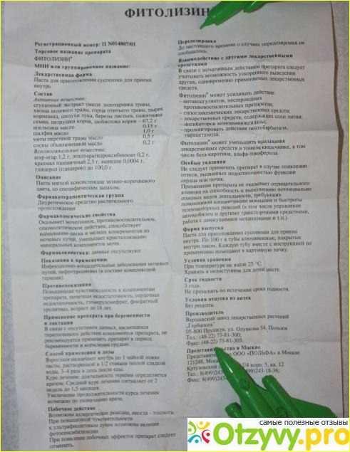 Фитолизин: инструкция по применению при беременности