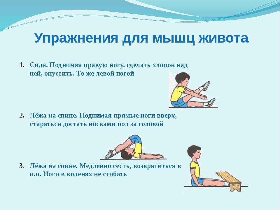 Зарядка для детей 4-5-6 лет дома