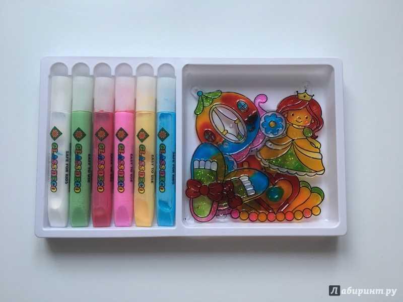 Краски витражные (50 фото): выбираем детям набор с витражами для рисования по стеклу от фирм «луч», decola и amos