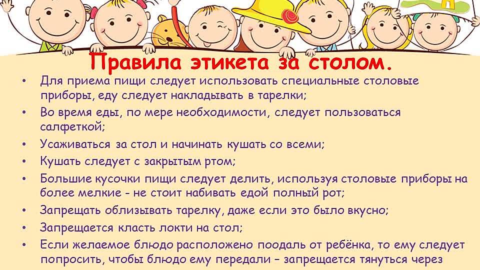 Правила поведения в школе для начальных классов