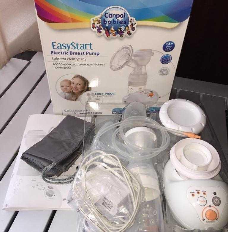 Молокоотсос canpol babies easy start electric breast pump