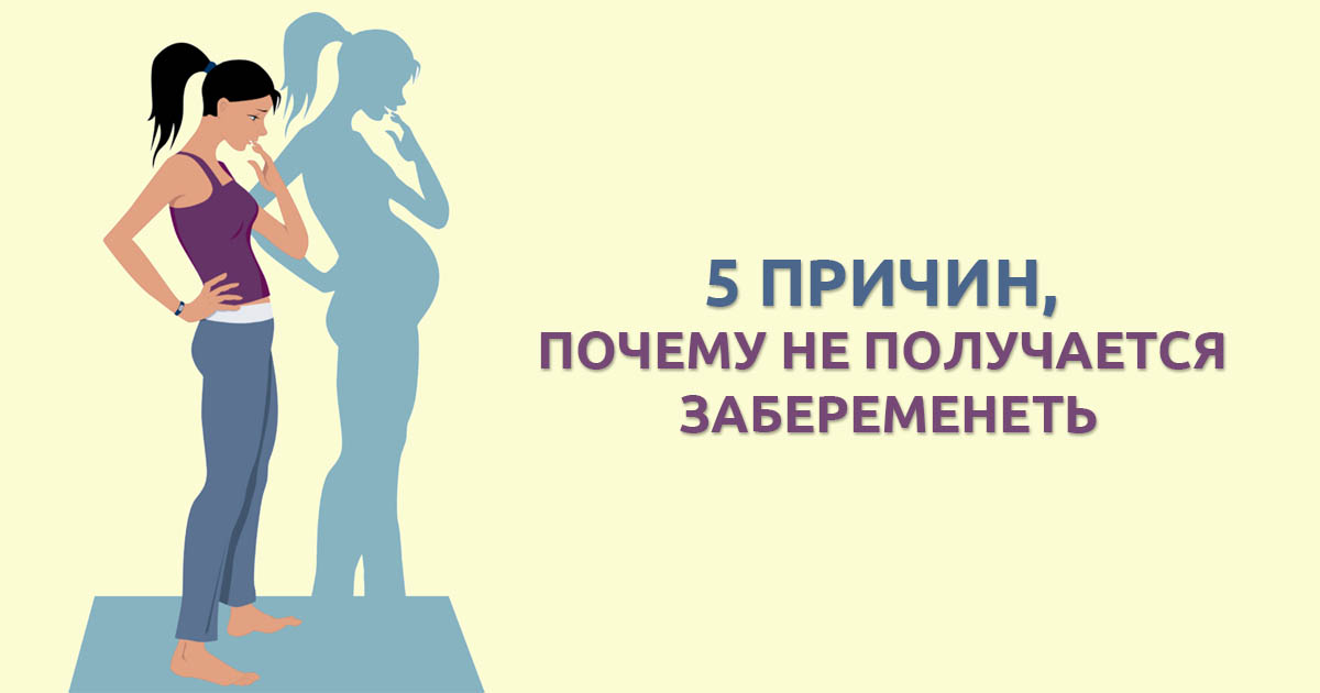 Почему женщина не может забеременеть? | wmj.ru