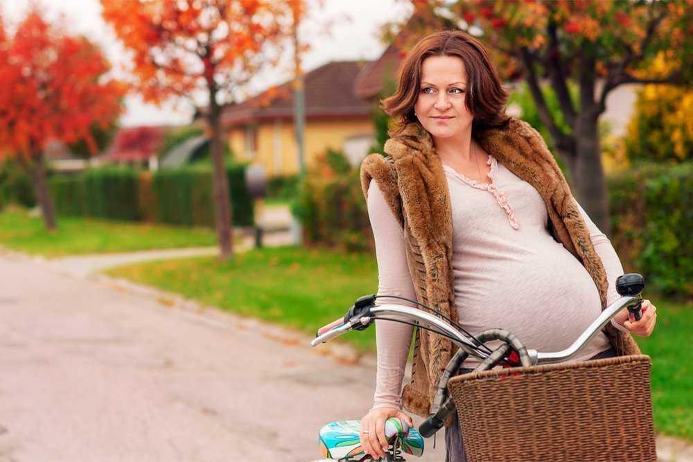Езда на велосипеде во время беременности | компетентно о здоровье на ilive