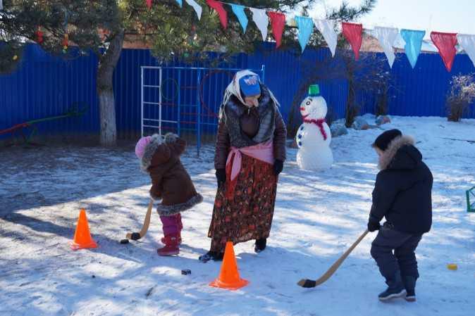 Русские народные подвижные игры зимой | каракули