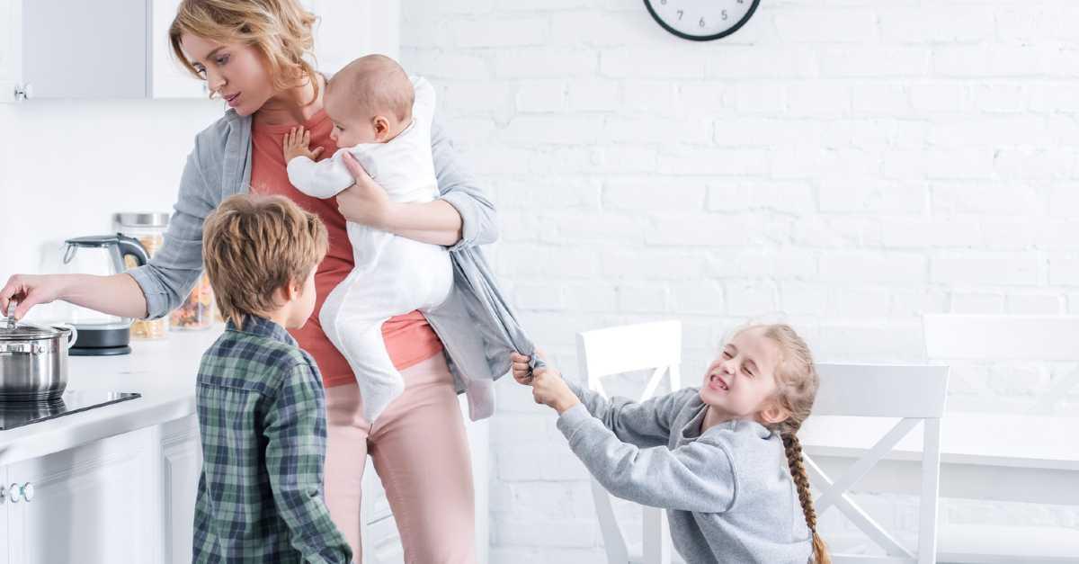 Легкая доля многодетной мамы. как организовать быт многодетной семьи