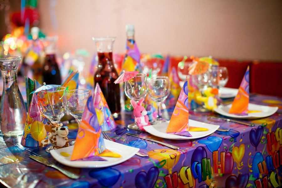 Идеи меню на день рождения для детей 4-6 лет