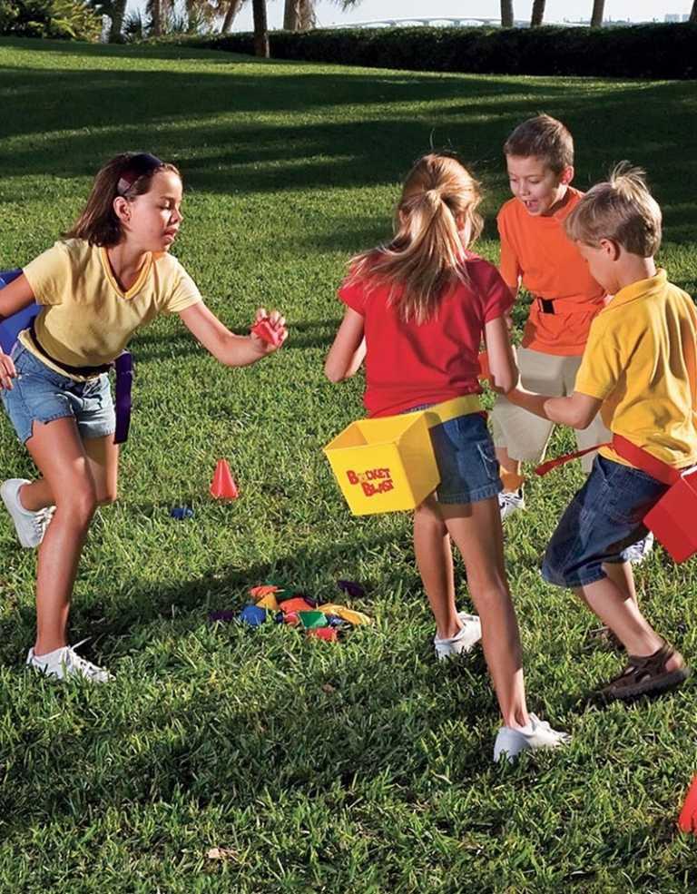 Летние подвижные игры для детей на улице