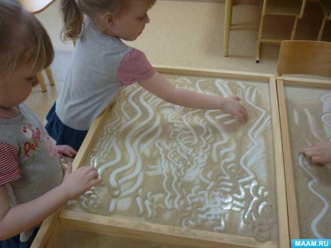 Польза песочной терапии для детей дошкольного возраста