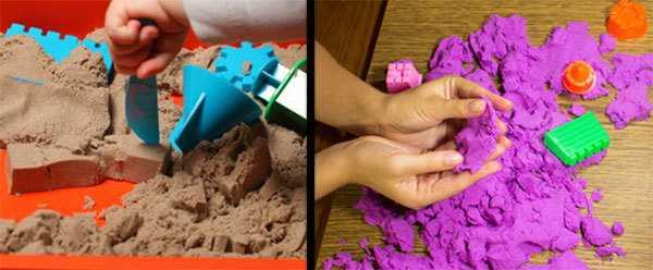 Живой песок: что это такое, как играть, пластичный песок для лепки