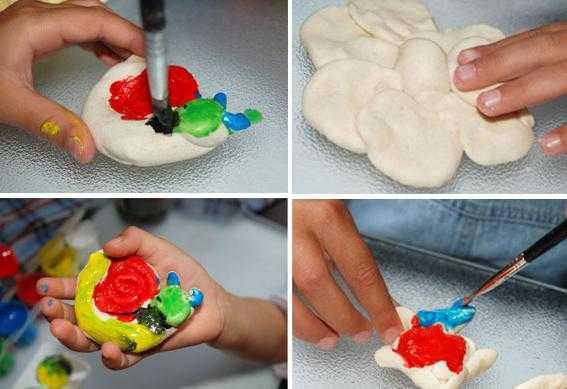Соленое тесто для лепки для детей - 5 простых рецептов в домашних условиях с фото пошагово