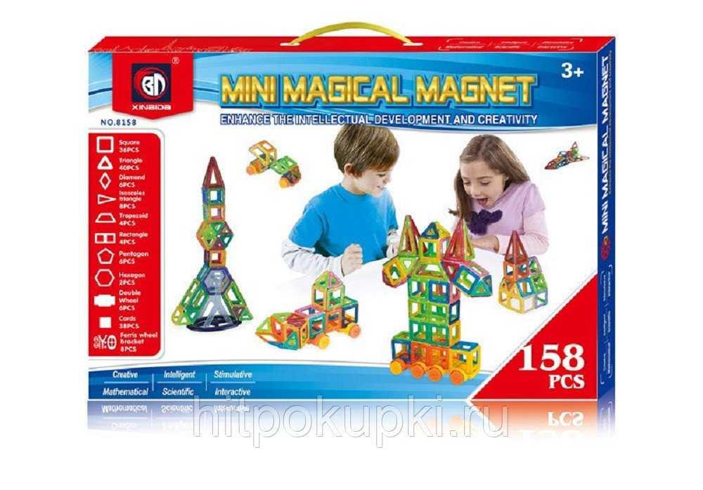 Топ-7 лучших магнитных конструкторов для детей
