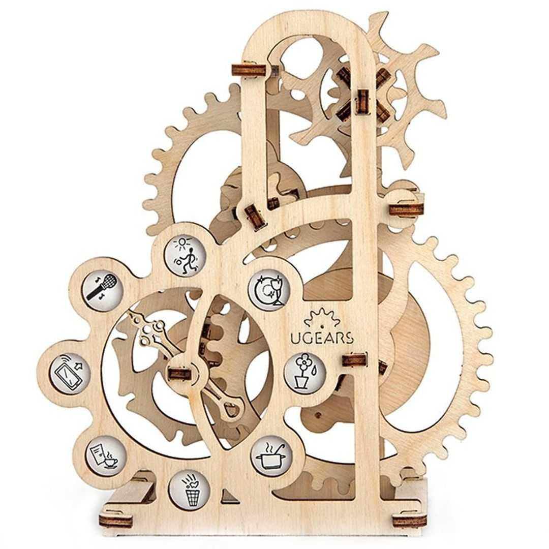 Особенности деревянных механических конструкторов