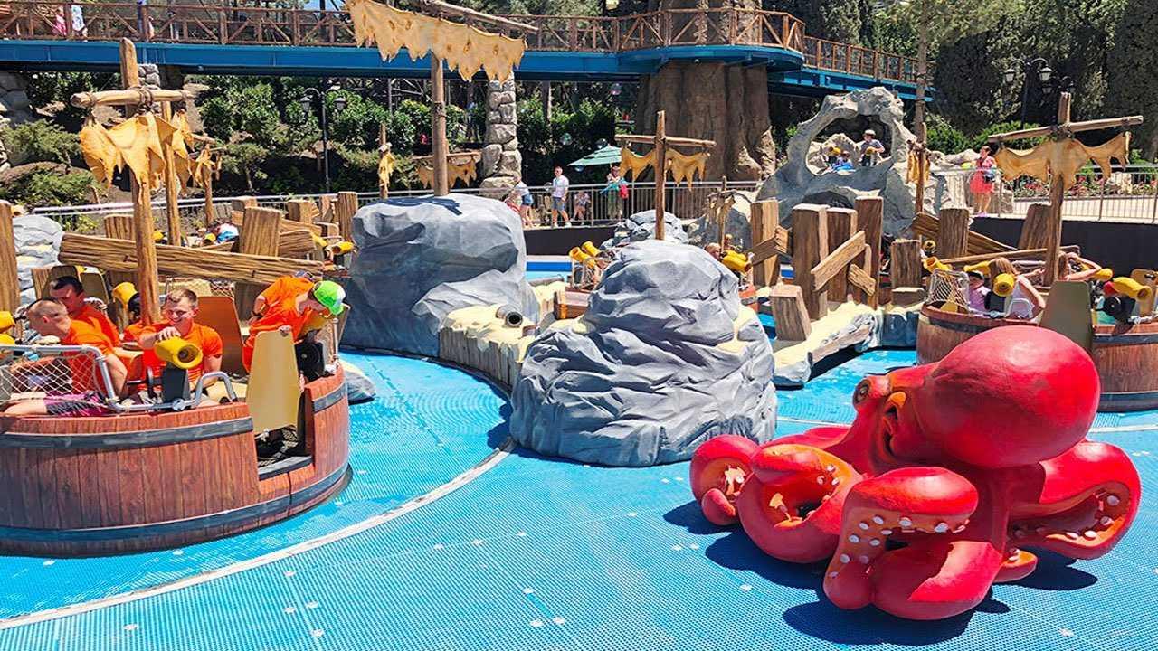 Парк дримвуд в ялте: развлечения для детей. цены 2020