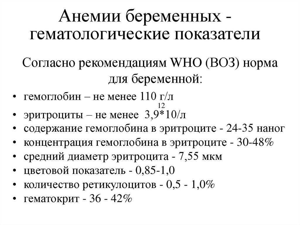 Общий анализ крови при беременности: норма, расшифровка : saluma.ru