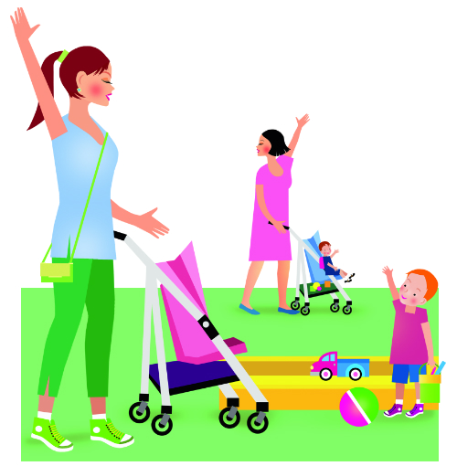 6 способов увести ребенка с детской площадки без истерики