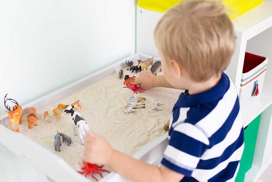 Песочная терапия для детей дошкольного возраста и взрослых