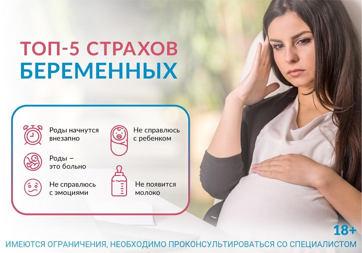 Страх перед родами при беременности — что делать и как побороть стресс