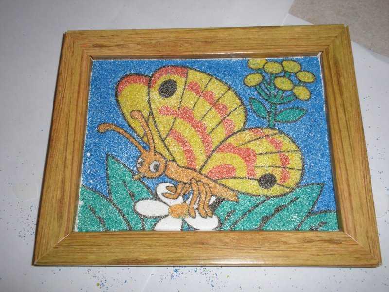 Наборы для творчества - фрески из песка и мягких гранул. - игрушкин дом