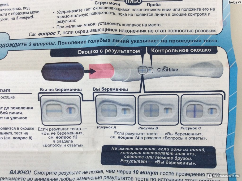 Как работает струйный тест на беременность и насколько он достоверен
