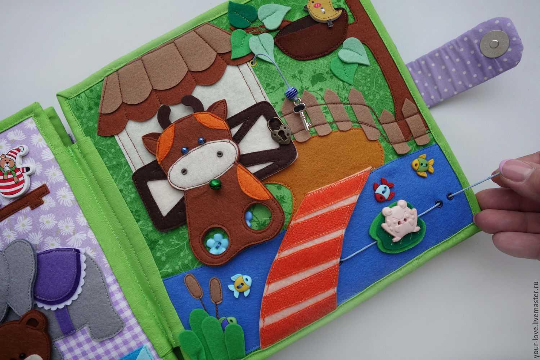 Книжка из фетра - 95 фото идей для детей и взрослых