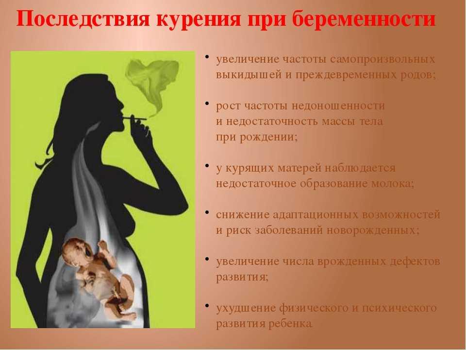 Курение во время беременности: мнения врачей