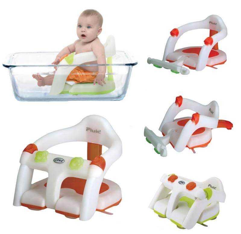 Стульчик для купания малыша в ванной: какое детское сидение лучше купить