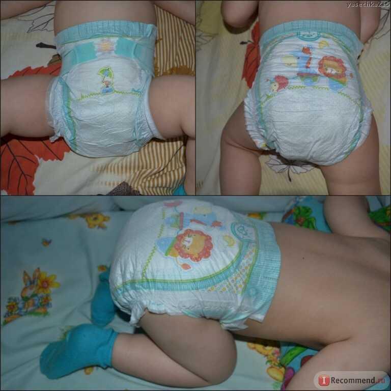 Как одеть памперс новорожденному правильно: мальчику и девочке
