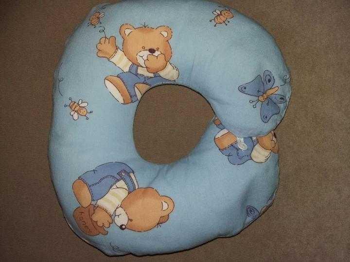 Подушка, которая подарит новорожденному идеальные условия для сна