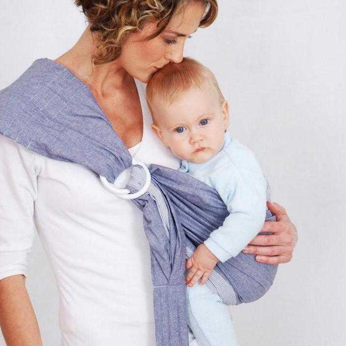 Какой слинг выбрать для новорожденного для дома, как приучить ребенка к слингу, советы и видео