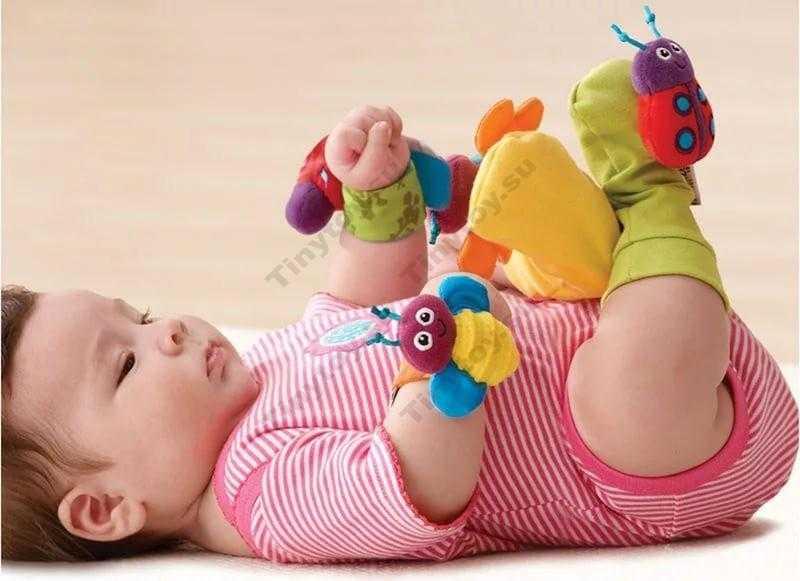 Какие игрушки необходимы ребёнку в 4-5 месяцев