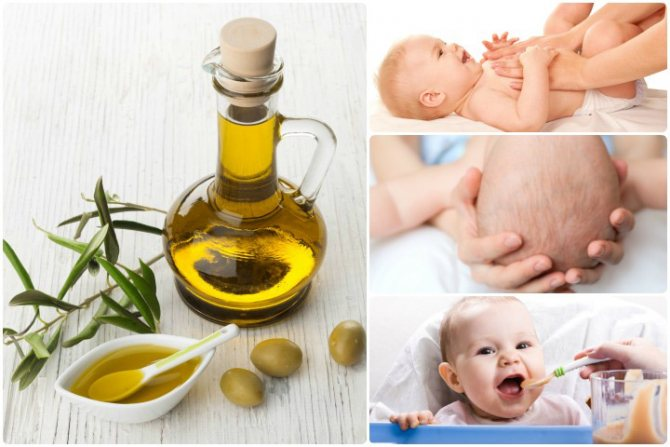 Детское масло или крем для массажа: выбираем лучшие