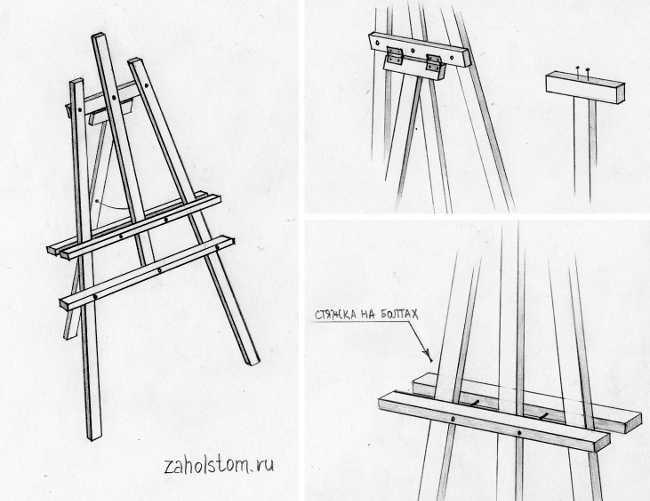 Этюдник (47 фото): что это такое, делаем настольный вариант для рисования своими руками, как сделать из штатива изделие мини размера