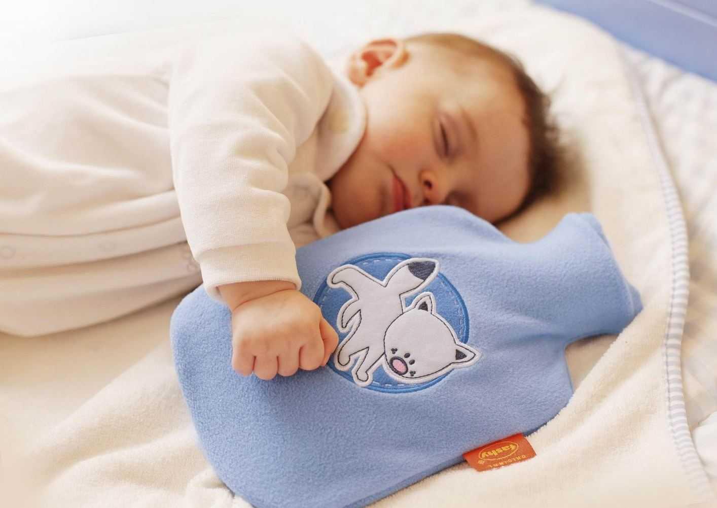 Грелка от колик для новорожденного - топотушки