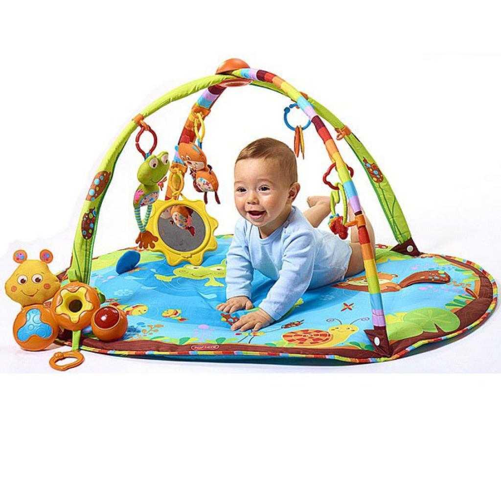 Детский развивающий коврик (34 фото): напольные модели для ползания, tiny love для новорожденных