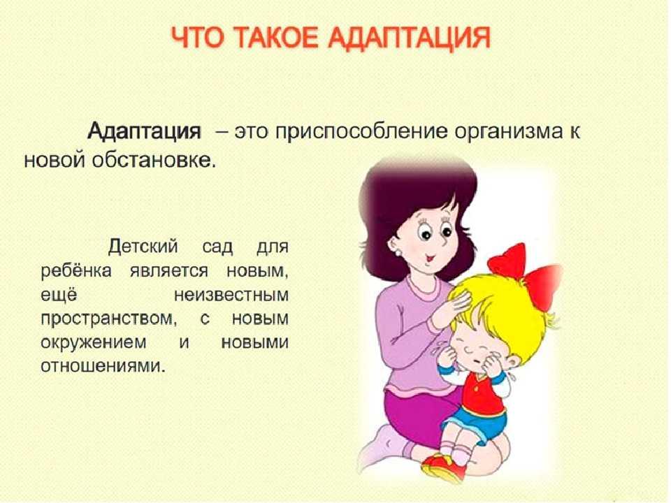 Адаптация детей к условиям доу: понятие, фазы и степени адаптации, подготовка и игры с ребенком в период адаптации.