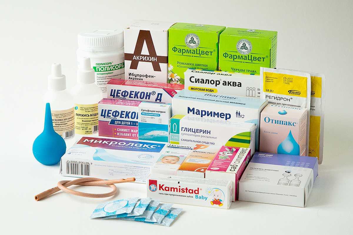 Аптечка для малыша: всё есть, спокойна душа!