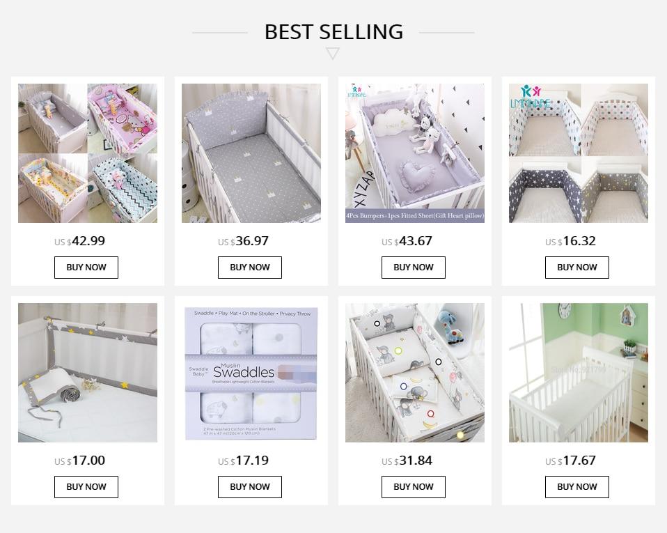 Выбор постельного белья для кроватки новорожденному: детские комплекты с бортиками